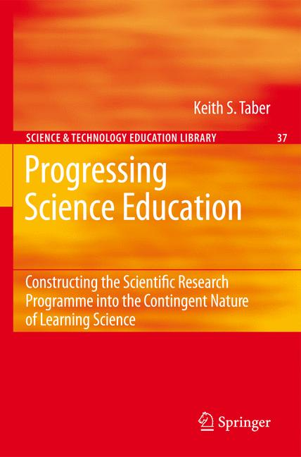 Cover of 'Progressing Science Education'
