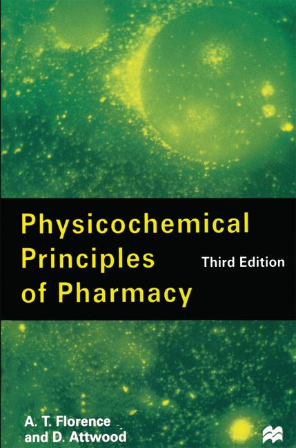 Cover of 'Physicochemical Principles of Pharmacy'