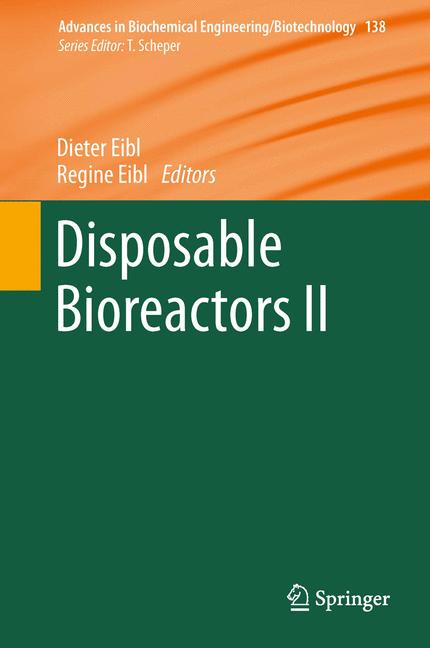 Cover of 'Disposable Bioreactors II'