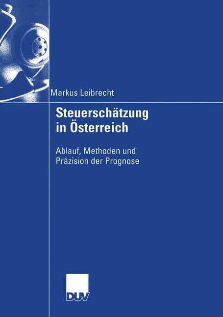 Cover of 'Steuerschätzung in Österreich'