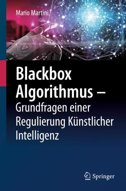Cover of 'Blackbox Algorithmus – Grundfragen einer Regulierung Künstlicher Intelligenz'