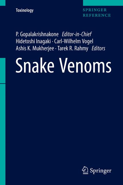 Cover of 'Snake Venoms'