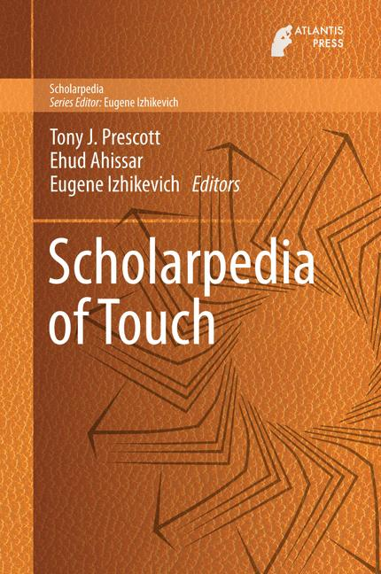 Cover of 'Scholarpedia of Touch'