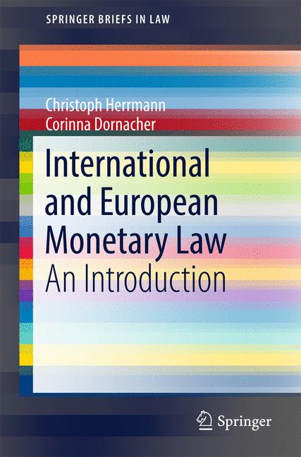 Cover of 'International and European Monetary Law'