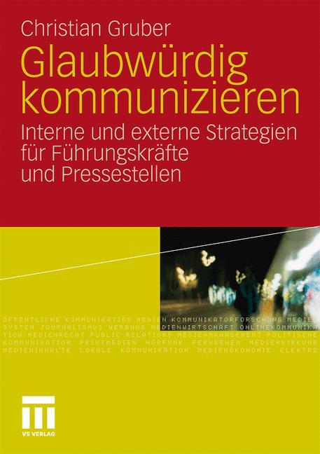 Cover of 'Glaubwürdig kommunizieren'