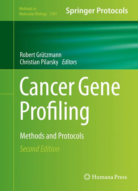 Cover of 'Cancer Gene Profiling'