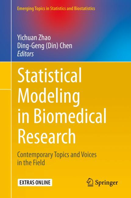 Cover of 'Statistical Modeling in Biomedical Research'