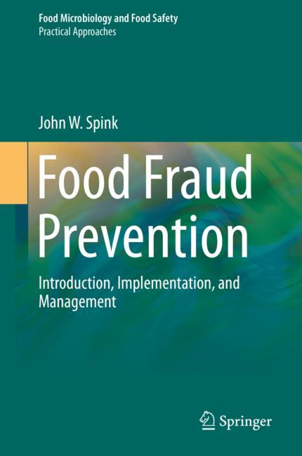 Cover of 'Food Fraud Prevention'