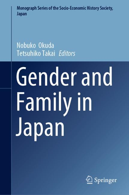 Cover of 'Gender and Family in Japan'