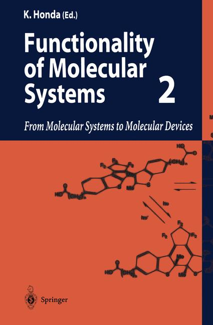 Cover of 'Functionality of Molecular Systems'