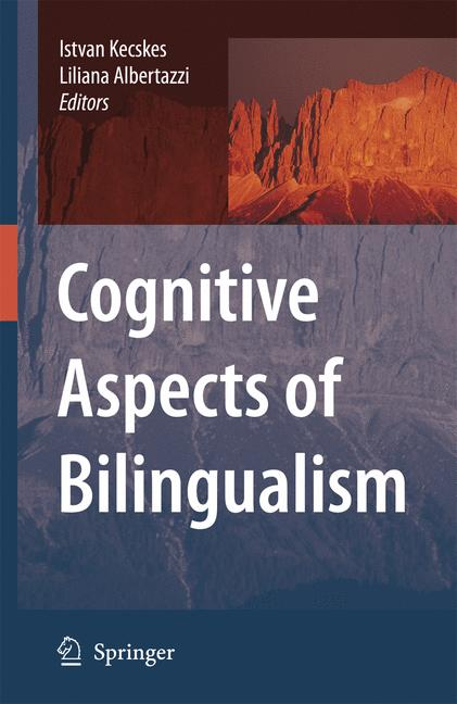 Cover of 'Cognitive Aspects of Bilingualism'