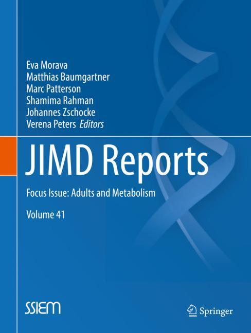 Cover of 'JIMD Reports, Volume 41'
