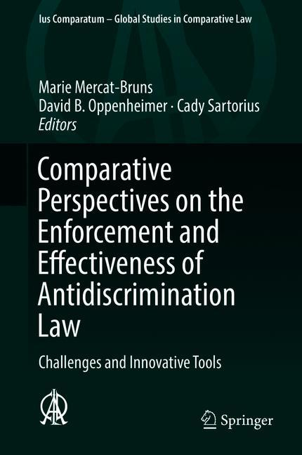 Cover of 'Comparative Perspectives on the Enforcement and Effectiveness of Antidiscrimination Law'