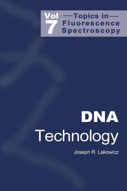 Cover of 'Topics in Fluorescence Spectroscopy'