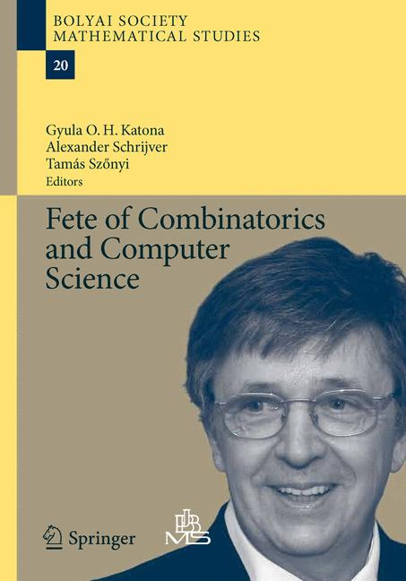 Cover of 'Fete of Combinatorics and Computer Science'