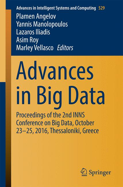Cover of 'Advances in Big Data'