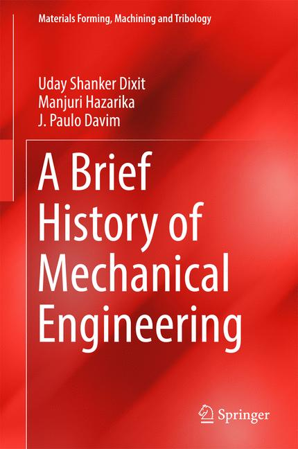 Cover of 'A Brief History of Mechanical Engineering'