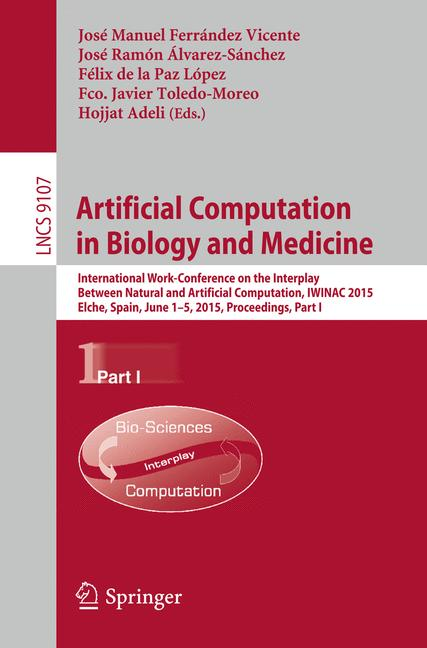Cover of 'Artificial Computation in Biology and Medicine'
