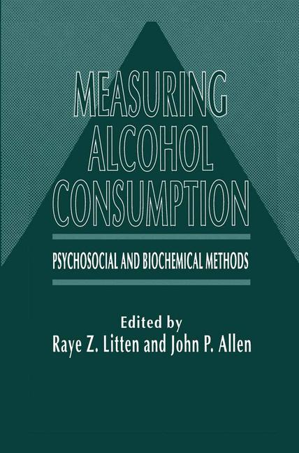 Cover of 'Measuring Alcohol Consumption'
