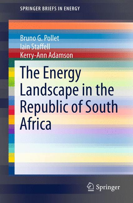 Cover of 'The Energy Landscape in the Republic of South Africa'