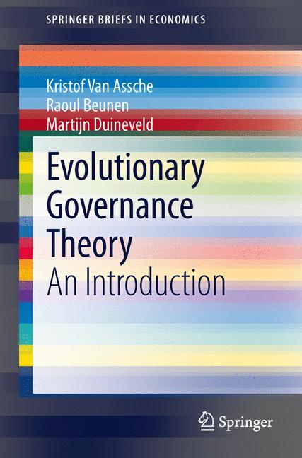 Cover of 'Evolutionary Governance Theory'