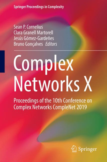 Cover of 'Complex Networks X'