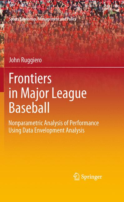 Cover of 'Frontiers in Major League Baseball'