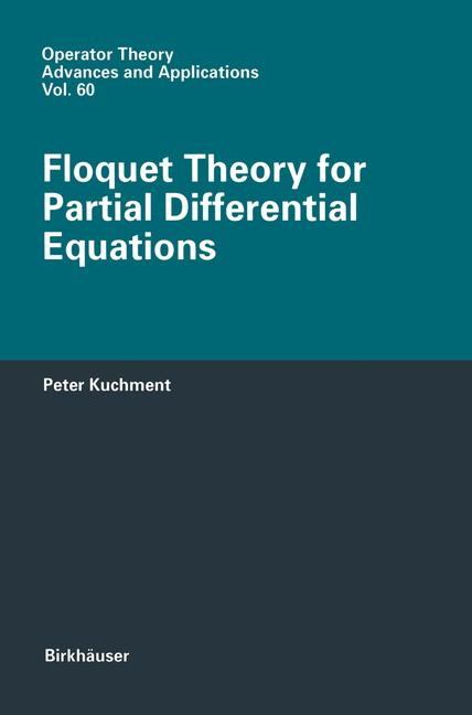 Cover of 'Floquet Theory for Partial Differential Equations'