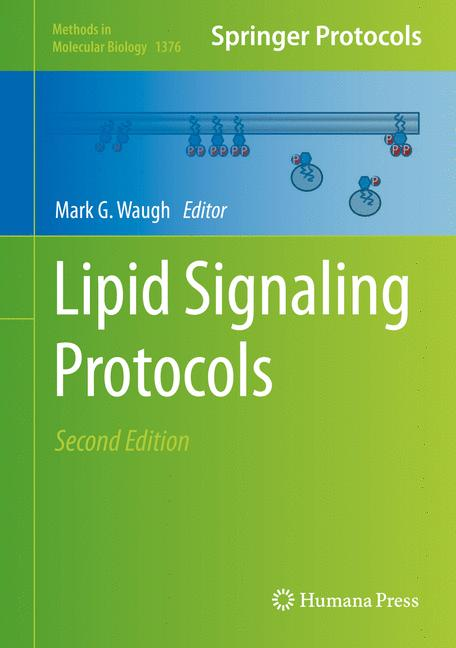 Cover of 'Lipid signaling protocols'