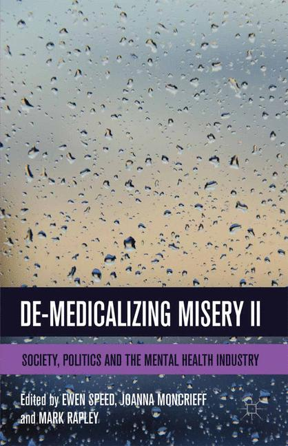 Cover of 'De-Medicalizing Misery II'