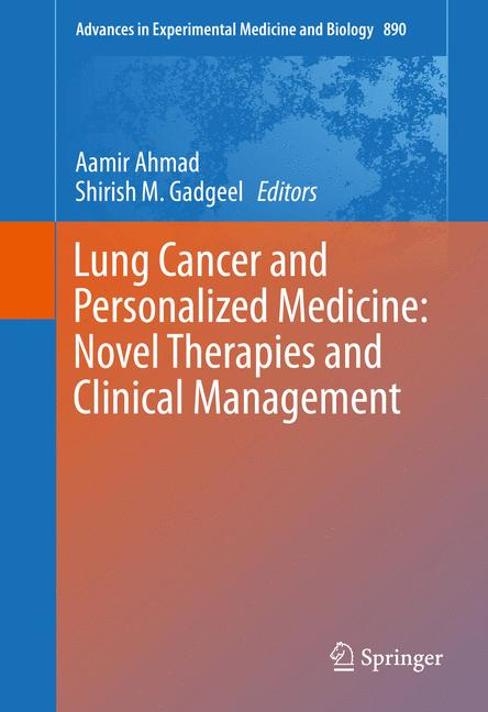 Cover of 'Lung Cancer and Personalized Medicine: Novel Therapies and Clinical Management'