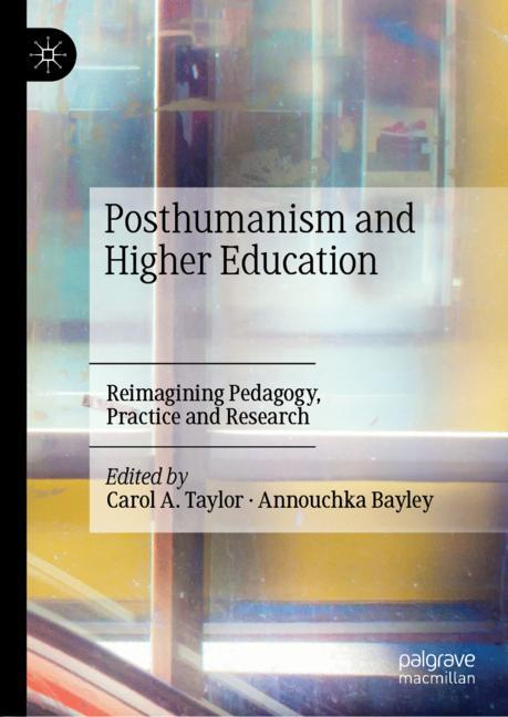 Cover of 'Posthumanism and Higher Education'