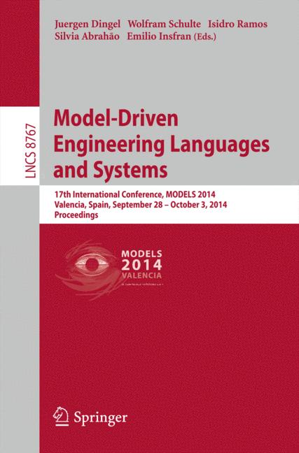 Cover of 'Model-Driven Engineering Languages and Systems'