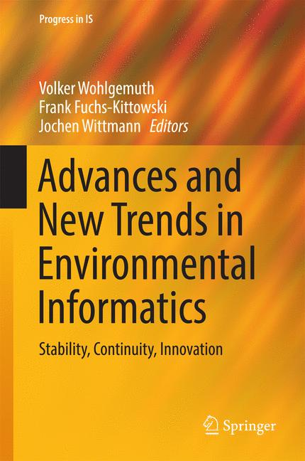 Cover of 'Advances and New Trends in Environmental Informatics'
