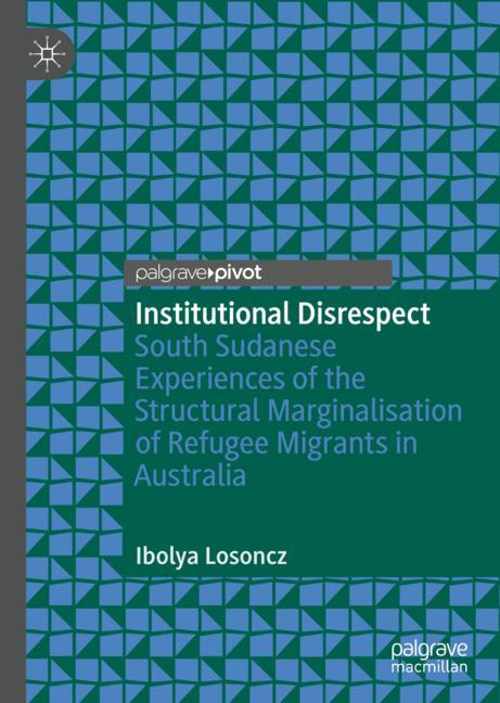 Cover of 'Institutional Disrespect'