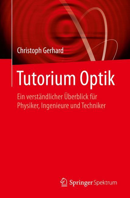 Cover of 'Tutorium Optik'