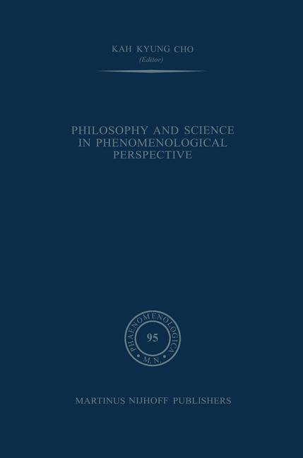 Cover of 'Philosophy and Science in Phenomenological Perspective'