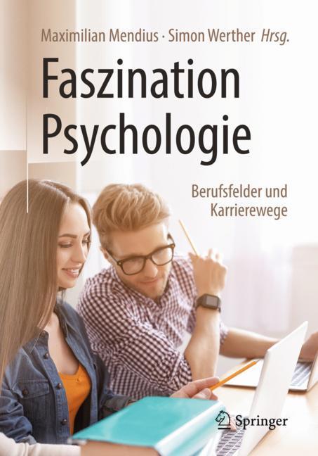 Cover of 'Faszination Psychologie – Berufsfelder und Karrierewege'
