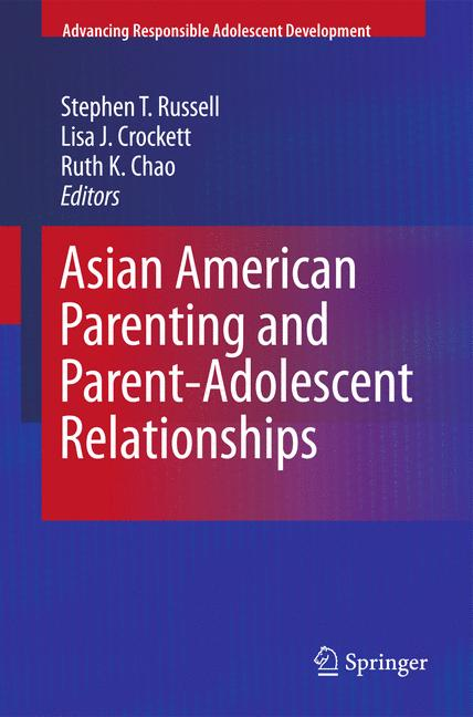 Cover of 'Asian American Parenting and Parent-Adolescent Relationships'