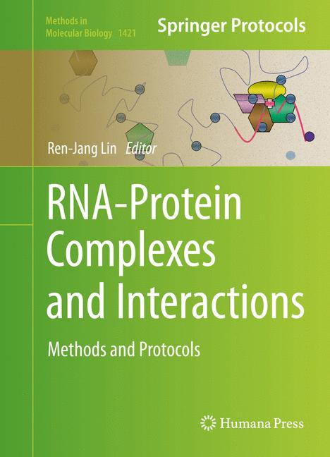 Cover of 'RNA-Protein Complexes and Interactions'