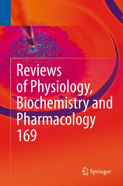 Cover of 'Reviews of Physiology, Biochemistry and Pharmacology Vol. 169'