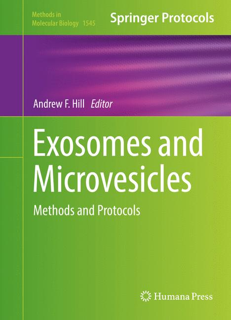 Cover of 'Exosomes and Microvesicles'