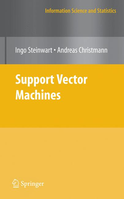 Cover of 'Support Vector Machines'