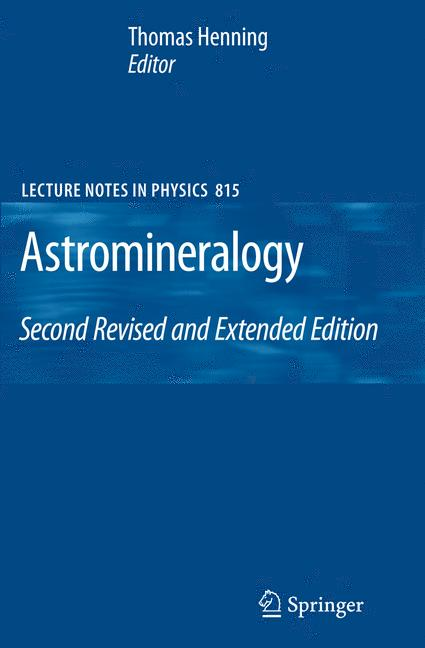 Cover of 'Astromineralogy'