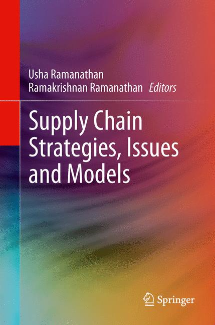 Cover of 'Supply Chain Strategies, Issues and Models'