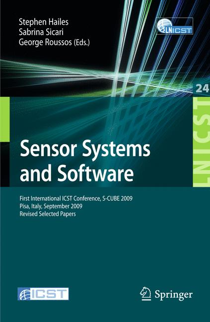 Cover of 'Sensor Systems and Software'