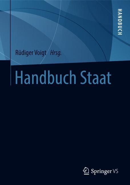 Cover of 'Handbuch Staat'