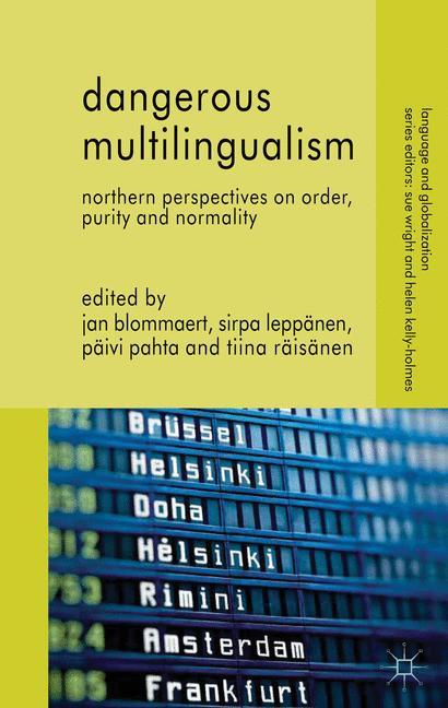 Cover of 'Dangerous Multilingualism'