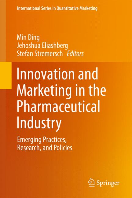 Cover of 'Innovation and Marketing in the Pharmaceutical Industry'