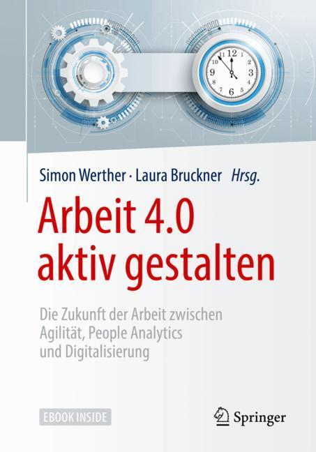 Cover of 'Arbeit 4.0 aktiv gestalten'